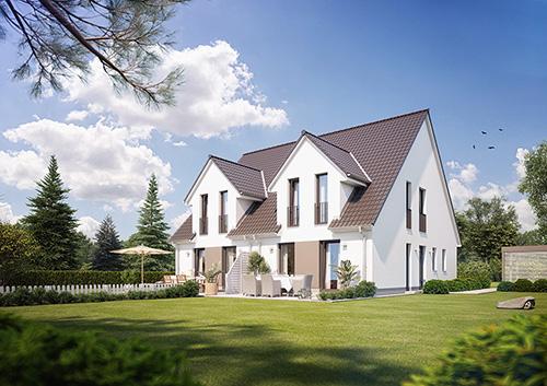 Abbildung Doppelhaus